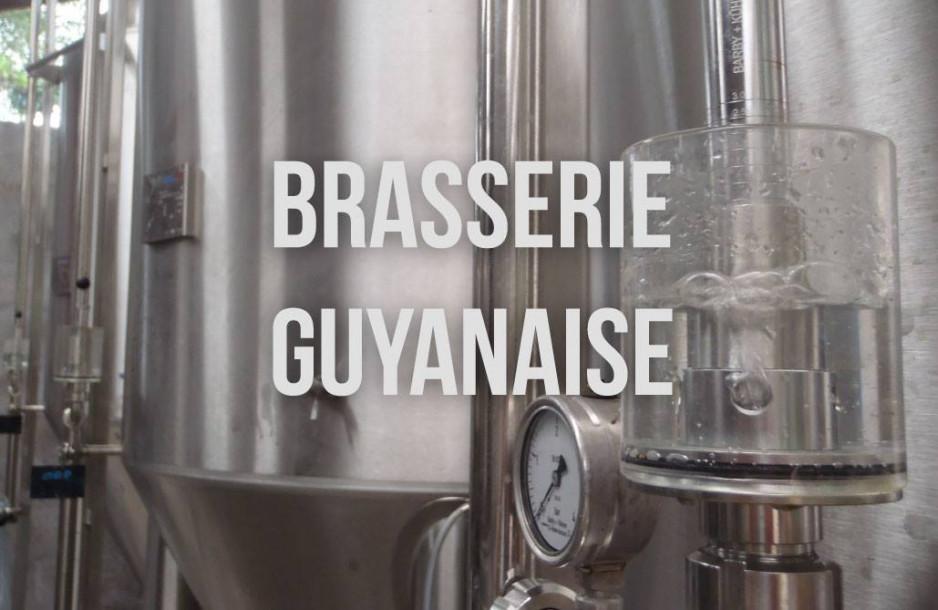BRASSERIE GUYANAISE A ROURA : JEUNE GUEULE