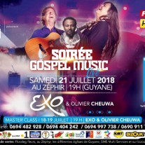 SOIRÉE GOSPEL MUSIC LIVE GUYANE