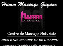 Massage Guyane : Humm massage