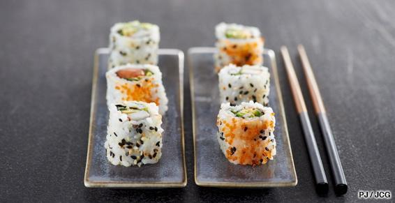 sushi bar à cayenne, guyane