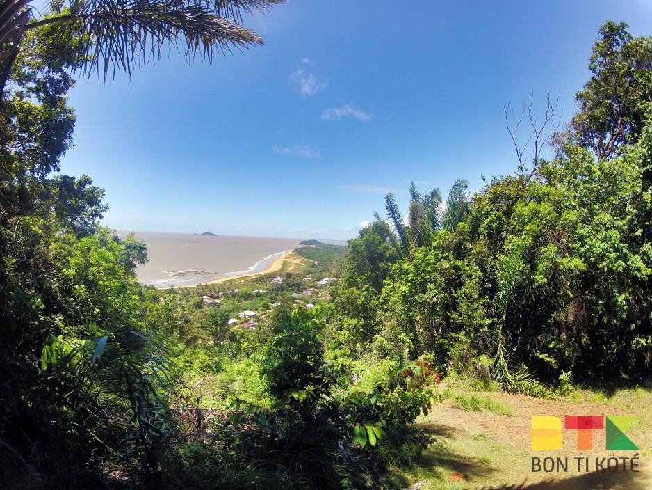 Sentier de la colline de Bourda