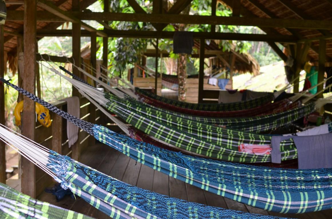 HÉBERGEMENT EN CAMP A KOUROU : LE CAMP SAUT LEODATE