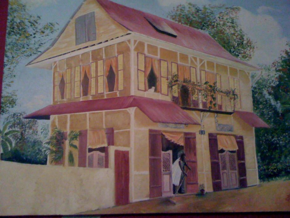 RESTAURANT AU CENTRE DE CAYENNE : LA PETITE MAISON