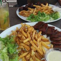 REATAURANT A CAYENNE : GABI BEACH CLUB