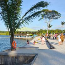 La mangrove camping touristique en guyane