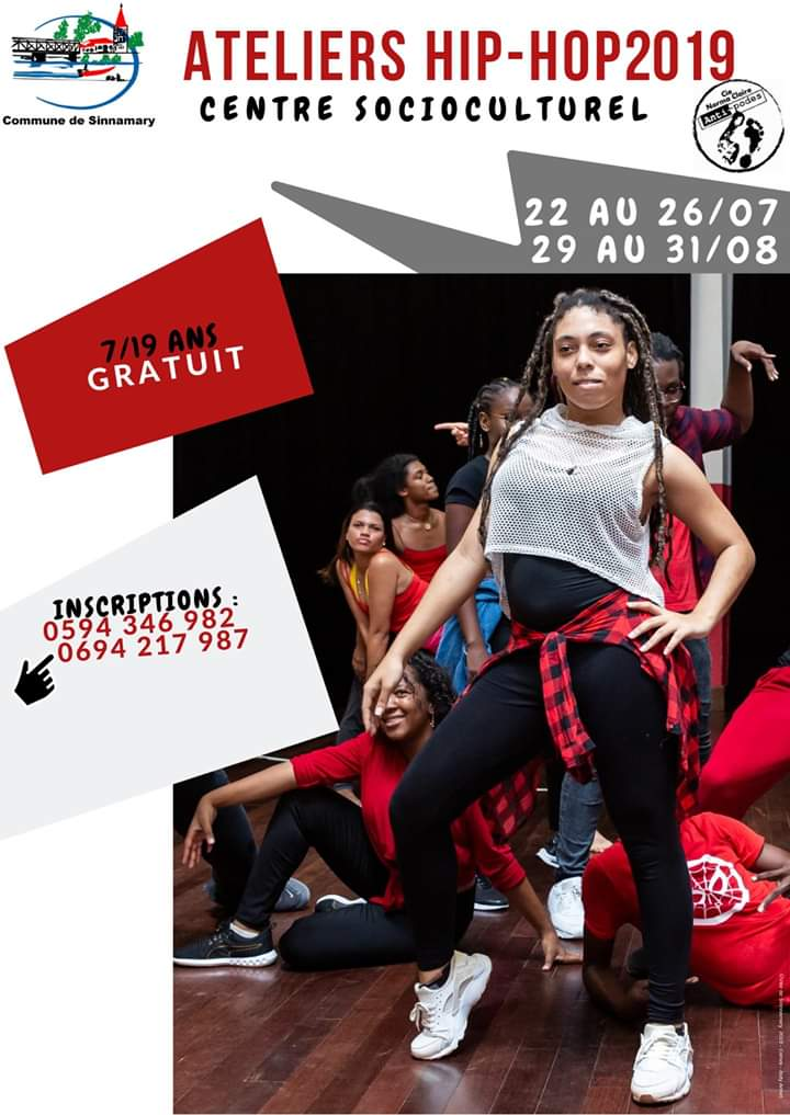 ATELIERS HIP-HOP 2019 A SINNAMARY