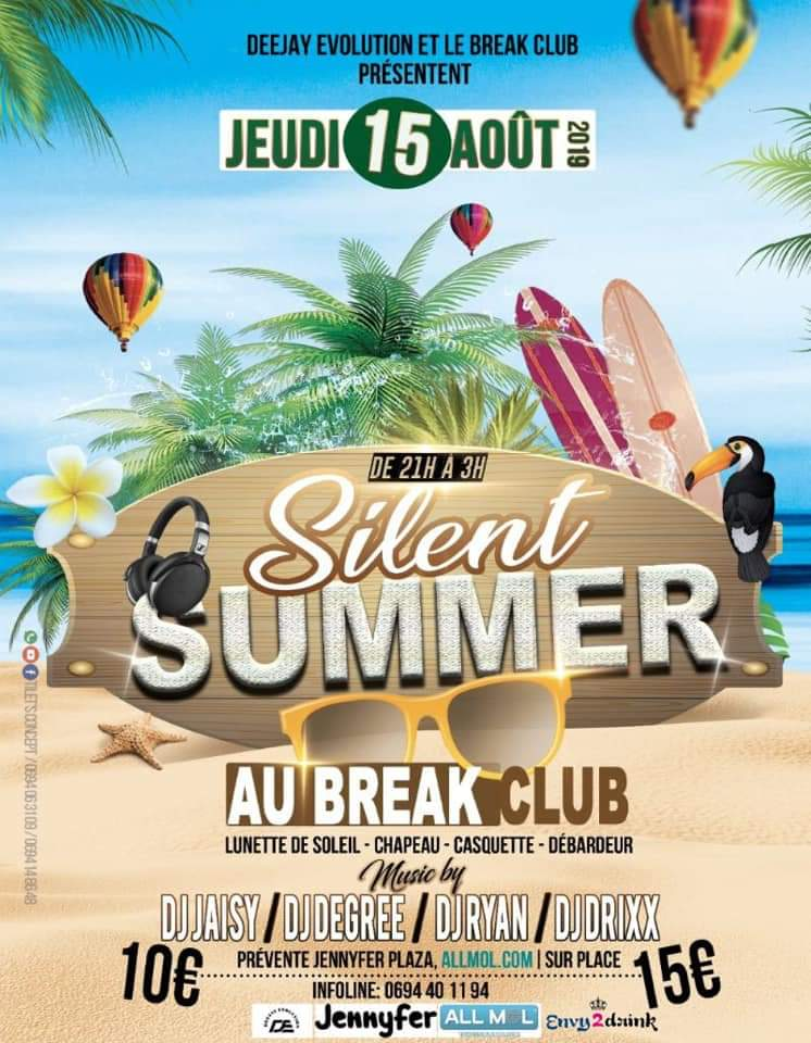 SOIREE SILENT SUMMER A REMIRE-MONTJOLY