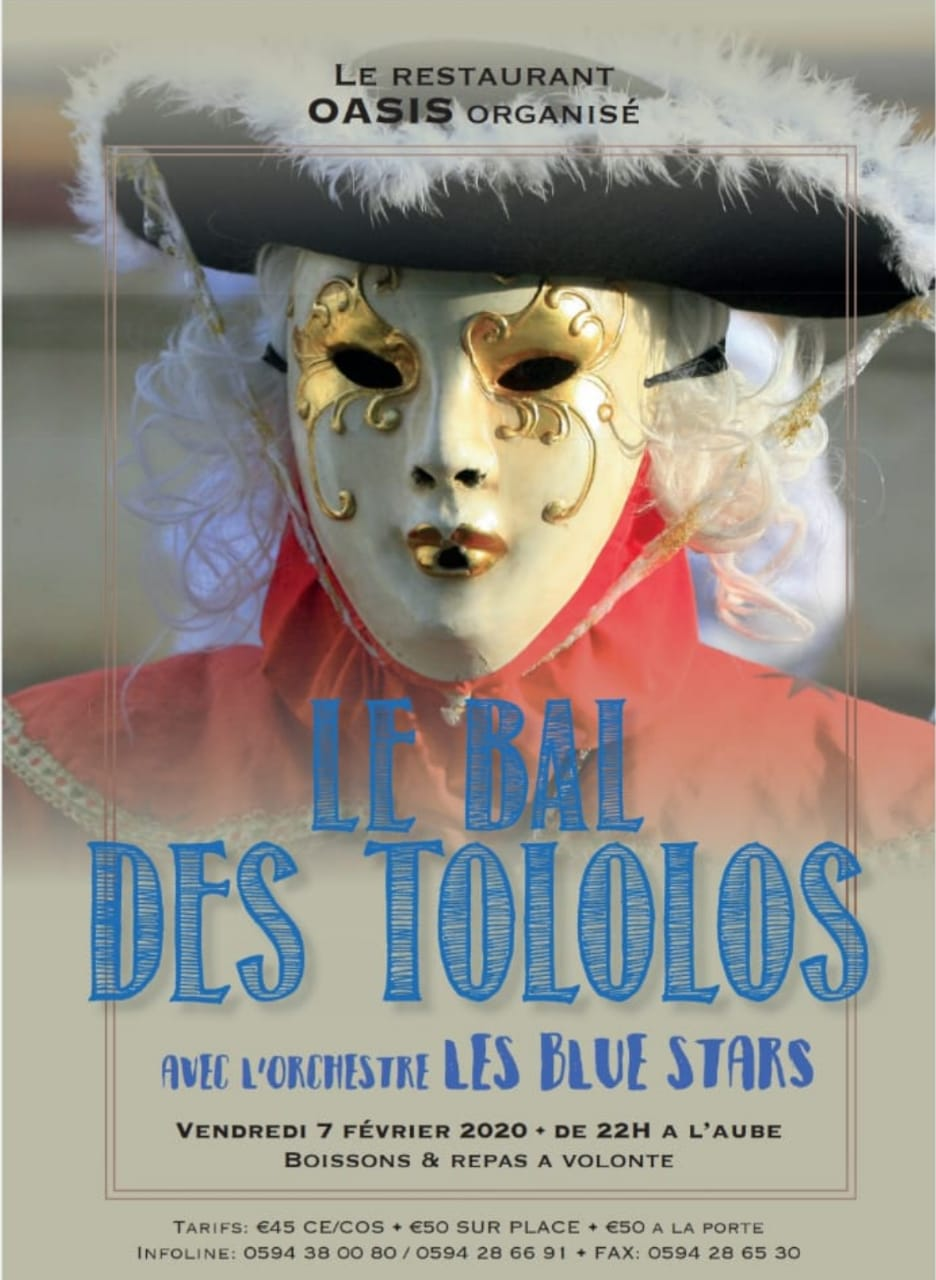 LE BAL DES TOLOLOS AVEC LES BLUES STARS