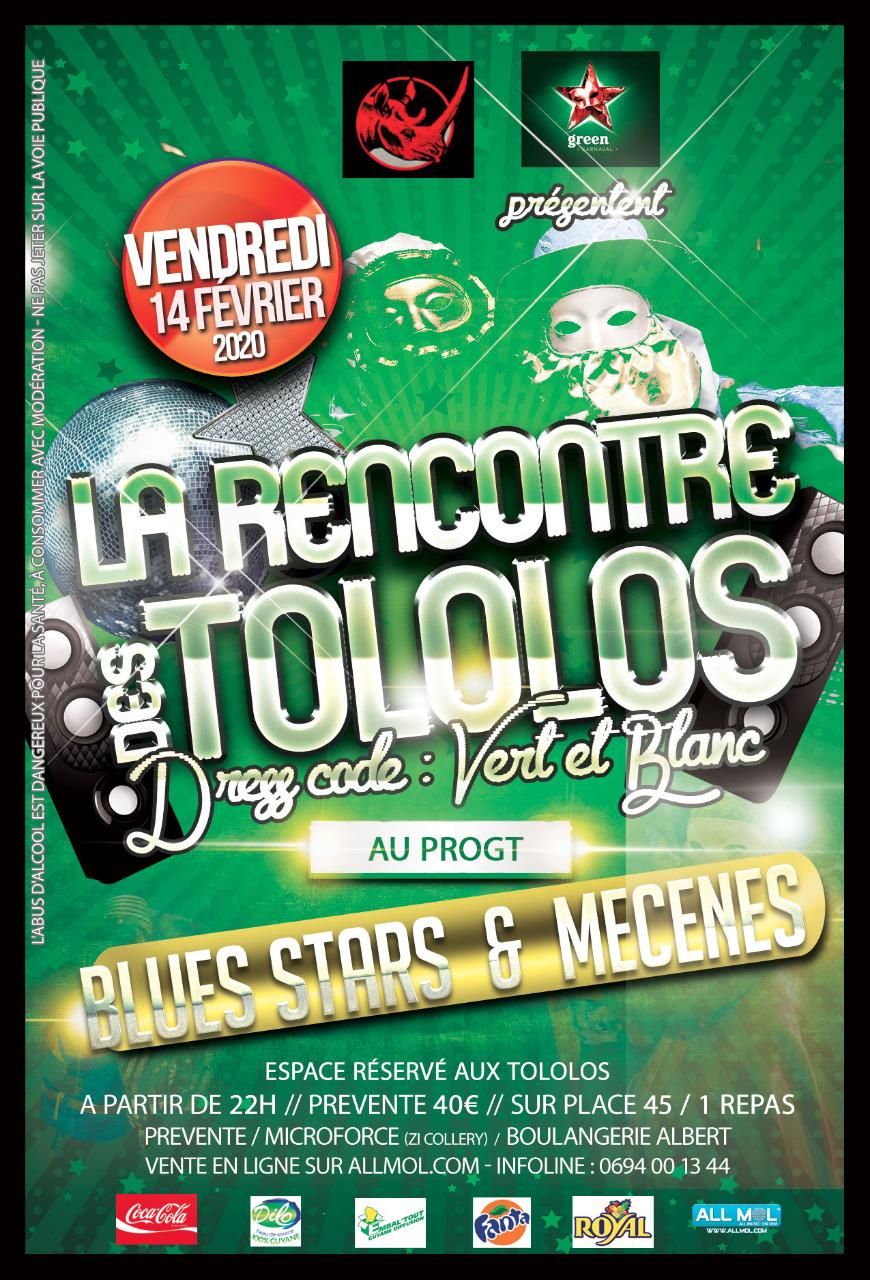 LA RENCONTRE DES TOLOLOS BLUES STARS & MÉCÈNES