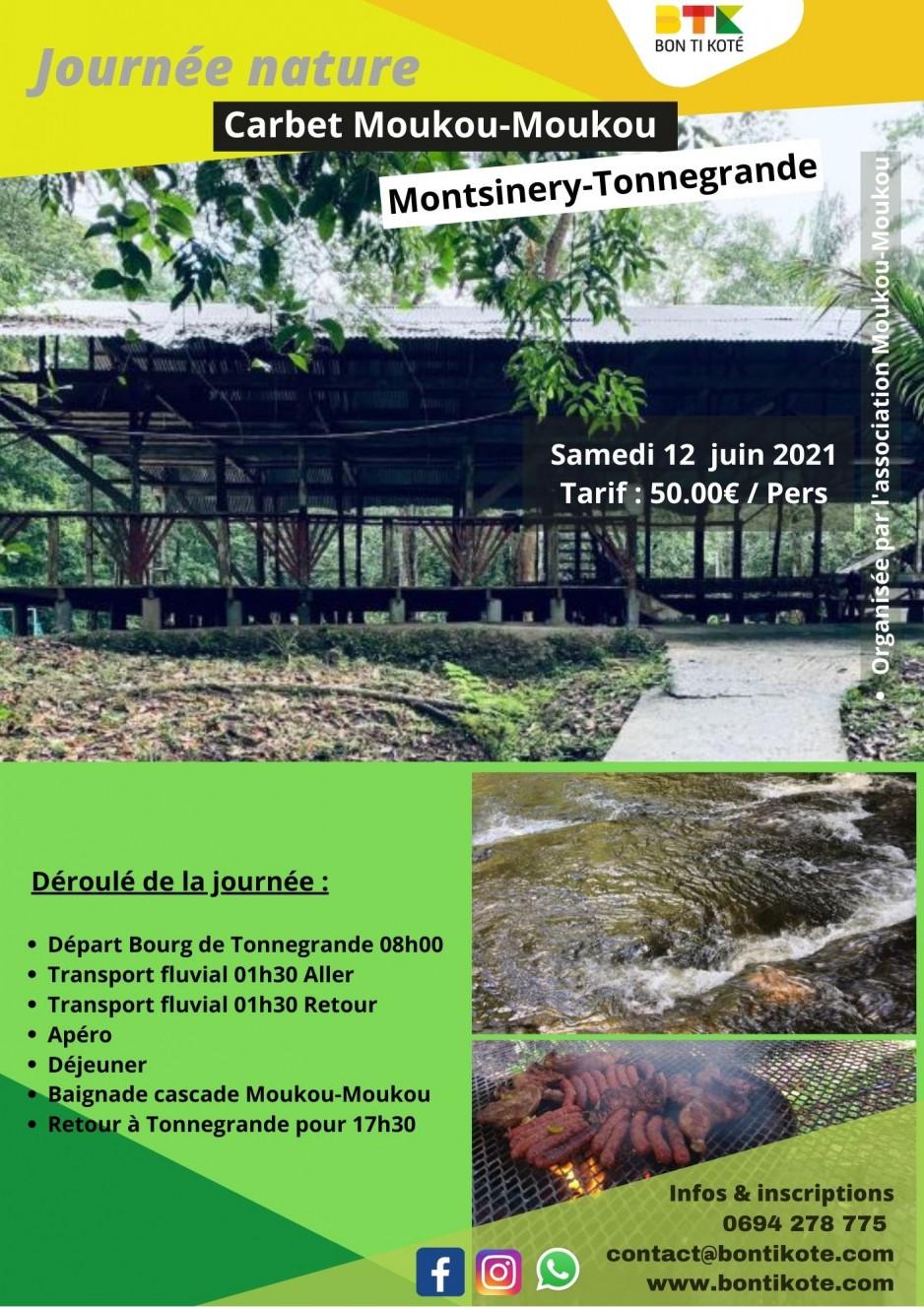 Journée détente en carbet à Montsinéry-Tonnegrande en Guyane